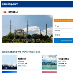 [Booking.com] Prices in Istanbul dropped again – act now and save more!
