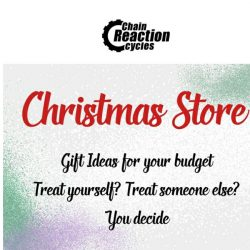 [Chain Reaction Cycles] Christmas Gifts From £20 👏
