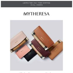 [mytheresa] Make it yours: personalize your Burberry wallet or cardholder + free shipping
