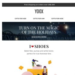[Yoox] ✨ For footwear fans: the most sought-after shoes
