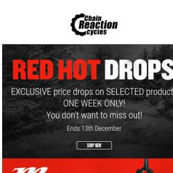 [Chain Reaction Cycles] Prime, Nukeproof, Five Ten: They're Red. Hot. 🔥