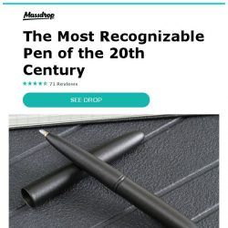 [Massdrop] Fisher Bullet Space Pen (2-Pack): The Most Recognizable Pen of the 20th Century for $31.99