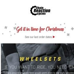 [Chain Reaction Cycles] Deals on Wheels 🚲💨