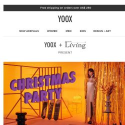 [Yoox] Christmas party: the new photoshoot by Living Corriere della Sera
