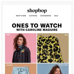 [Shopbop] 4 brands you should have on your radar