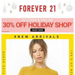 [FOREVER 21] HAVE YOU HEARD THE NEWS? 👀