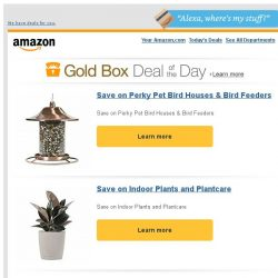 [Amazon] Save on Perky Pet Bird Houses & Bird Feeders