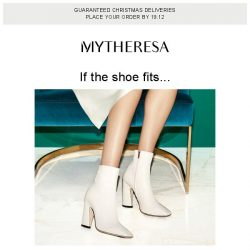 [mytheresa] Step into the new season with Jimmy Choo, Gianvito Rossi, Chloé... + limited time free shipping