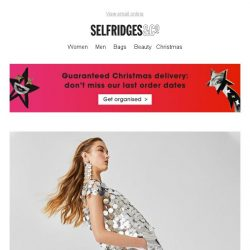 [Selfridges & Co] New season coming through…