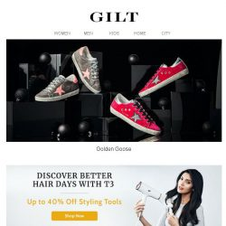 [Gilt] Golden Goose for Women & Men | Common Projects for Men
