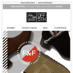 [Saks OFF 5th] For the boot lover: Extra 40% off Valentino Garavani, UGG Australia & more...
