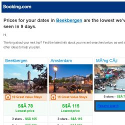 [Booking.com] Prices in Beekbergen dropped again – act now and save more!