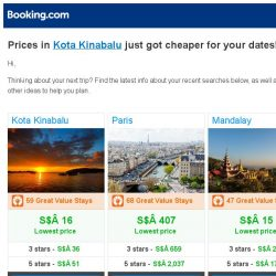[Booking.com] Prices in Kota Kinabalu are dropping for your dates!