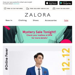 [Zalora] 🚨 Your Last Chance! | Everything Up to 80% Off