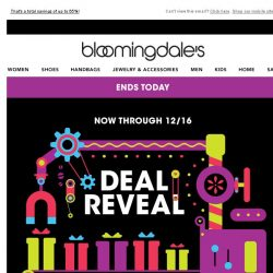[Bloomingdales] Take an extra 20%, 30% or 40% off--ends today