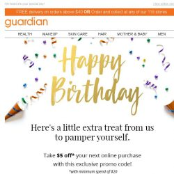 [Guardian] 👑 Happy Birthday  - Special surprise inside