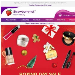 [StrawberryNet] 💥 Boxing Day Blowout 💥 Extra 10% Off Everything!