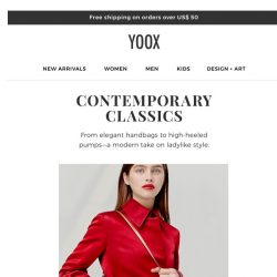 [Yoox] Shoes and accessories: need-now pieces to define your look