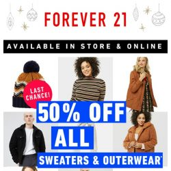 [FOREVER 21] ENDING NOW: 50% OFF | Run, run, Rudolph!