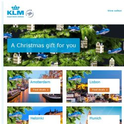 [KLM] A special Christmas gift for you!