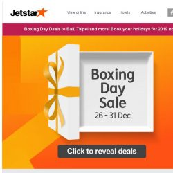 [Jetstar] 🎁 Bq Sg, unbox your Boxing Day surprise today!