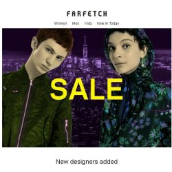 [Farfetch] Off-White, Stella McCartney and Versace are now on sale