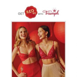 [Triumph]  Kickstart 2019 with indulgence of your favourite Triumph lingerie!