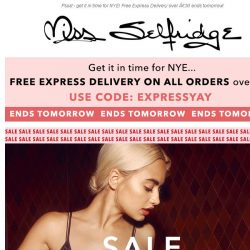 [Miss Selfridge] Get your NYE look for up to 70% off