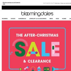 [Bloomingdales] Save up to 75% during the After-Christmas Sale & Clearance