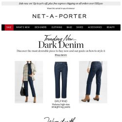 [NET-A-PORTER] The denim trend we're wearing now