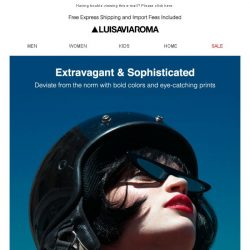 [LUISAVIAROMA] The anticipated designer selections have arrived