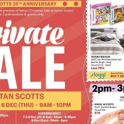 Isetan: Private Sale with 20% Beauty Bonus Coupons, Coupon Specials, Up to 50% OFF Selected Coach Items & More!