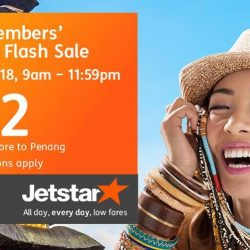 Jetstar: SAFRA Members' Exclusive Flash Sale with All-In Fares to Penang, Phuket, Bangkok, Taipei & More from SGD52