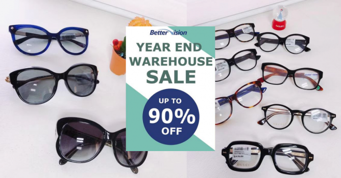 50d0c79ad52 6 - 9 Dec 2018 Better Vision  Year End Warehouse Sale with Up to 90% OFF  Eyewear from Ray-Ban