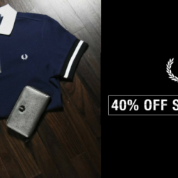 Fred Perry: Enjoy 40% OFF Storewide at Fred Perry Authentic Shops!