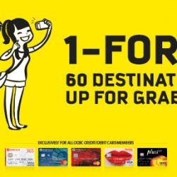 Scoot: Enjoy 1-for-1 Deals to 60 Destinations with OCBC Cards!