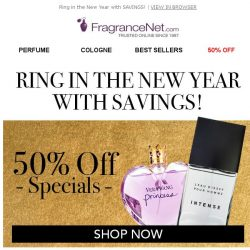 [FragranceNet] Keep the party going: Up to 80% sitewide!