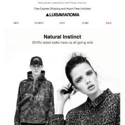 [LUISAVIAROMA] Up to date with 2019 new arrivals