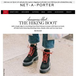 [NET-A-PORTER] The cool yet practical boot we're wearing now