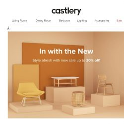 [Castlery] In with the New. #NewYearSale