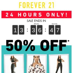 [FOREVER 21] ★ 24 HOURS ONLY ★