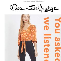 [Miss Selfridge] Your favourite jeans are back