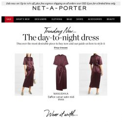 [NET-A-PORTER] The day-to-night dress