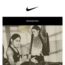 [Nike] Ends Soon: New Year Sale