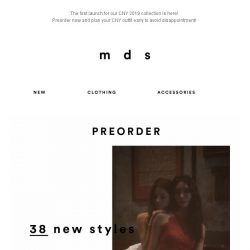 [MDS] The most coveted CNY collection 2019 | Preorder Now