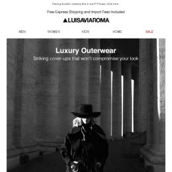 [LUISAVIAROMA] Must-have coats of the moment now on sale…