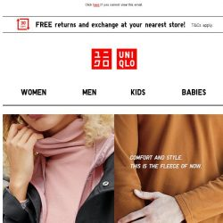 [UNIQLO Singapore] Items on sale!