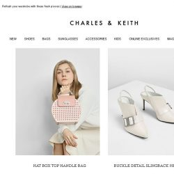[Charles & Keith] What's In Store For The Week