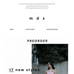 [MDS] Trends to take into 2019✨| 17 NEW STYLES ONLINE