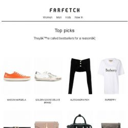 [Farfetch] The results are in. Shop the most sought-after pieces on Farfetch